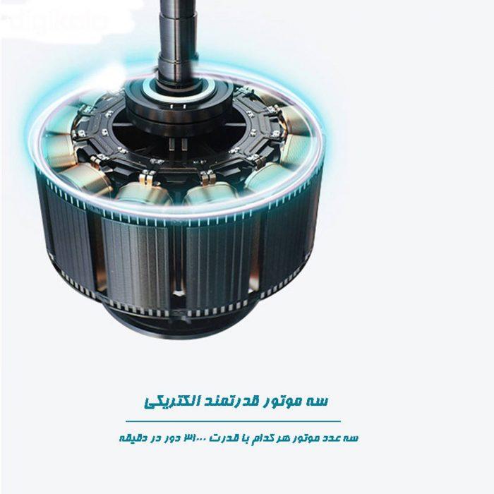 مسواک برقی هارمن مدل FUCHS MEDIUM1 با سه موتور قدرتمند