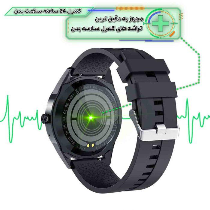 ساعت هوشمند نورمس مدل NURKELLO KY10 سنسورهای پایش 24 ساعته وضعیت سلامتی