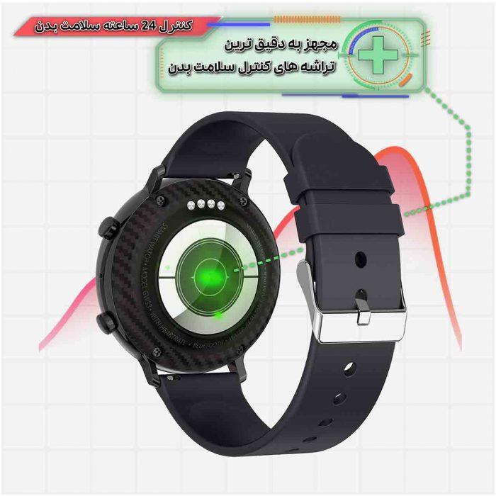 ساعت هوشمند نورمس مدل NURKELLO NT6 سنسورهای دقیق پایش وضعیت سلامتی