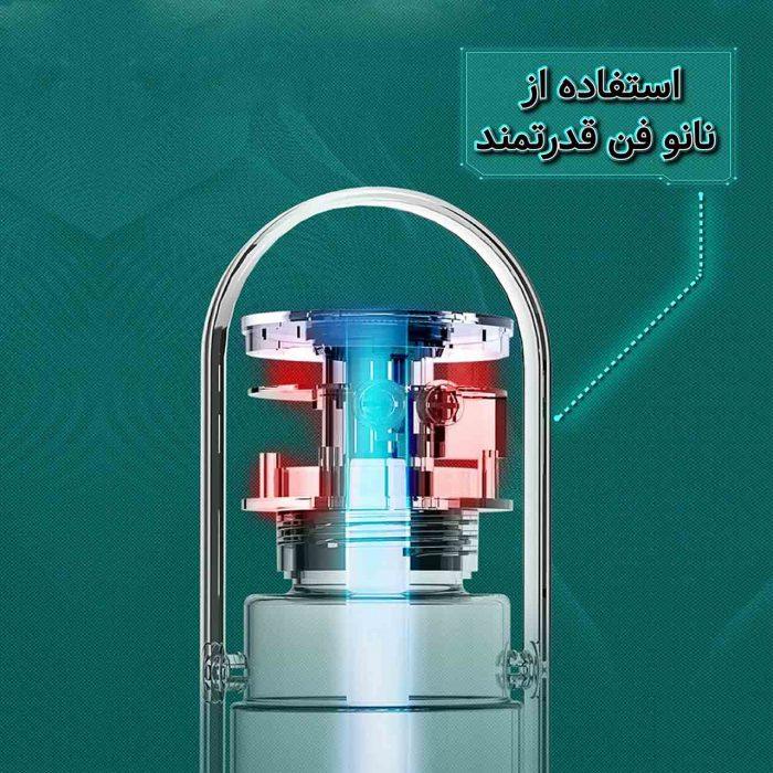 دستگاه تلطیف کننده هوا مام مدل COLORFUL H2O دارای نانوفن قدرتمند