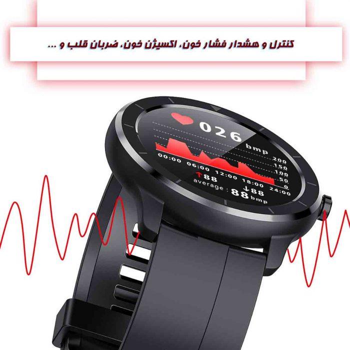 ساعت هوشمند نورمس مدل NURKELLO GW33 کنترل وضعیت سلامتی