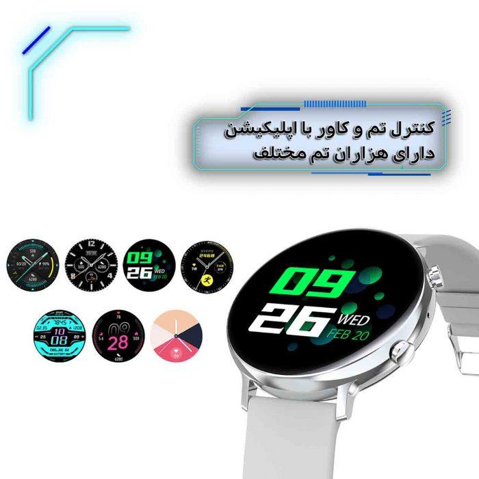ساعت هوشمند نورمس مدل NURKELLO GW33 کنترل تم و کاور