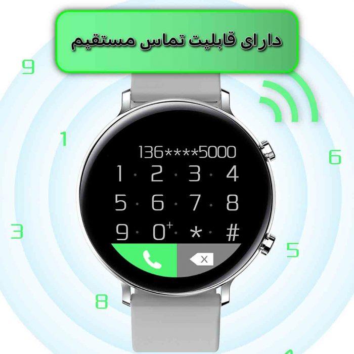 ساعت هوشمند نورمس مدل NURKELLO GW33 برقراری تماس مستقیم