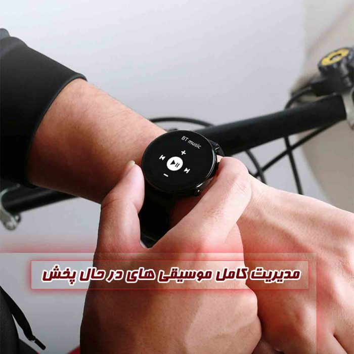 ساعت هوشمند نورمس مدل NURKELLO GW33 مدیریت کامل موسیقی
