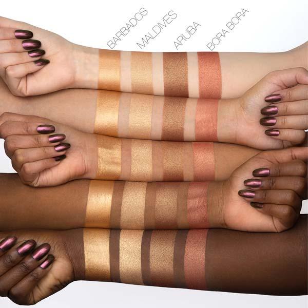 پالت هایلایتر پینک سند هدی بیوتی مناسب برای انواع پوست