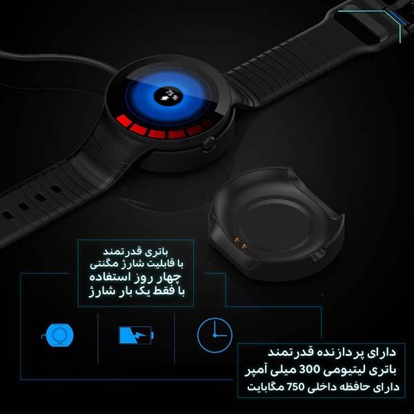 ساعت هوشمند نورمس مدل NURKELLO TE3 با پردازنده و باتری قدرتمند