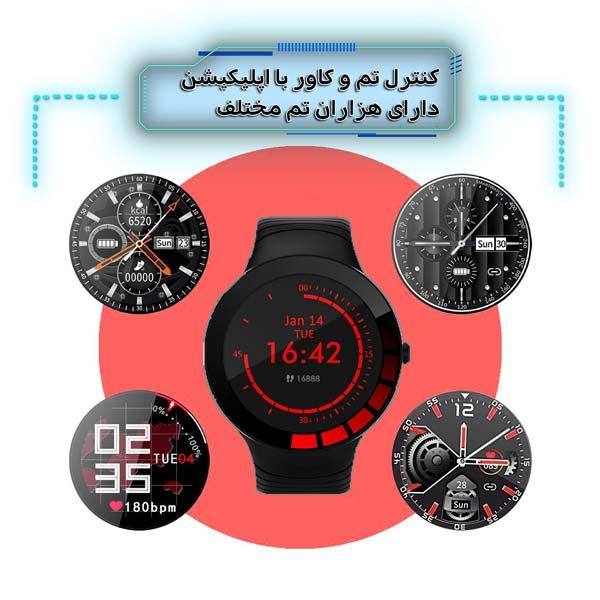 ساعت هوشمند نورمس مدل NURKELLO TE3 امکان کنترل تم و کاور