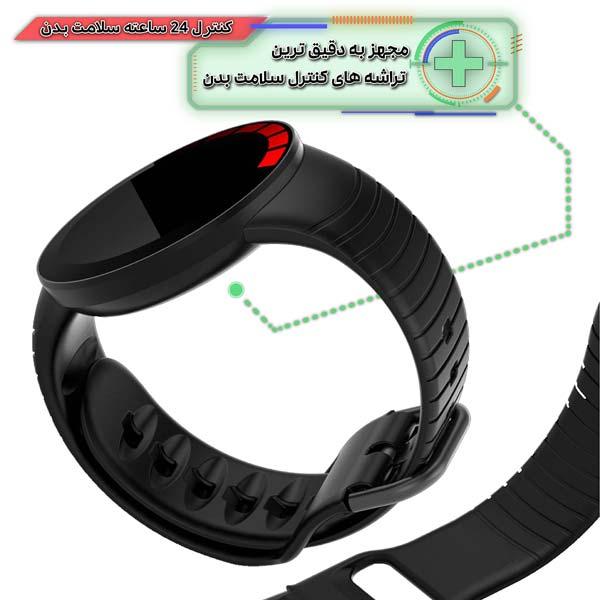 ساعت هوشمند نورمس مدل NURKELLO TE3 دارای سنسورهای کنترل وضعیت سلامتی