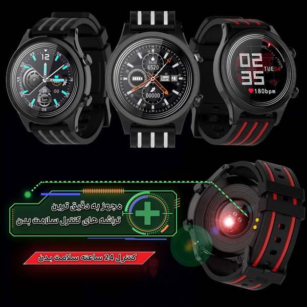 ساعت هوشمند نورمس مدل NURKELLO TE5 کنترل کامل سلامتی بدن