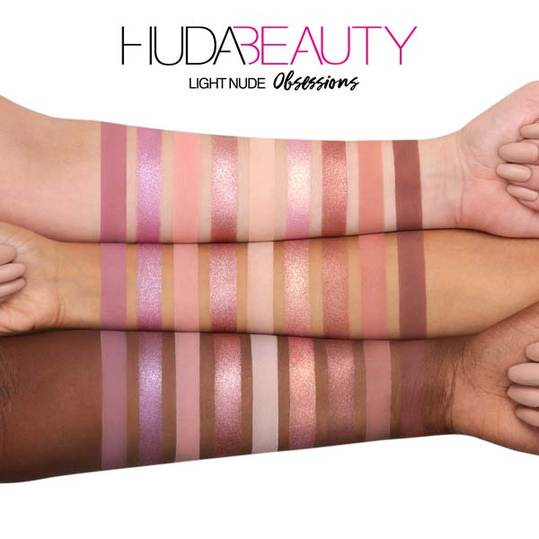 پالت سایه 9 رنگ نود لایت هدی بیوتی مناسب برای تمامی انواع پوست