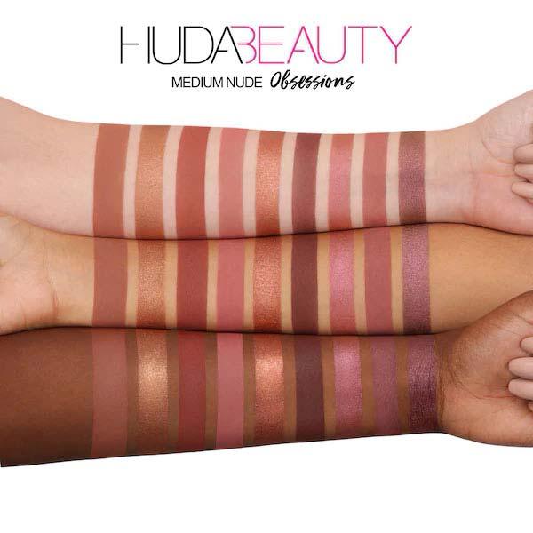 پالت سایه 9 رنگ نود مدیوم هدی بیوتی مناسب برای انواع پوست