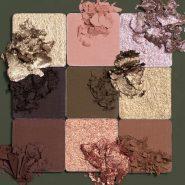 پالت سایه 9 رنگ هیز خاکی هدی بیوتی
