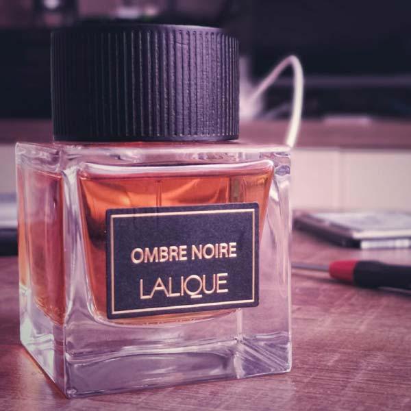 عطر ادکلن مردانه لالیک مدل Ombre Noire