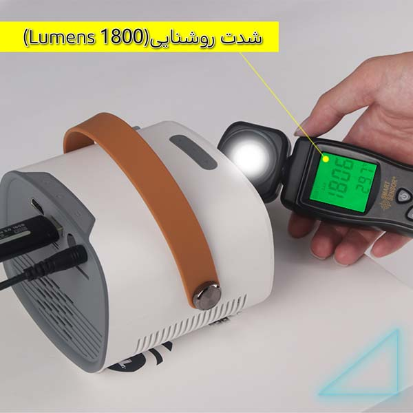 ویدئو پروژکتور و سینما خانگی امپلاتون مدل YG-230 روشنایی بالا
