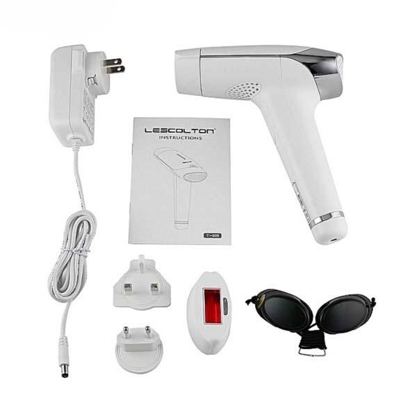 لیزر موهای زائد لسکلتون مدل T009 ULTRA اقلام همراه