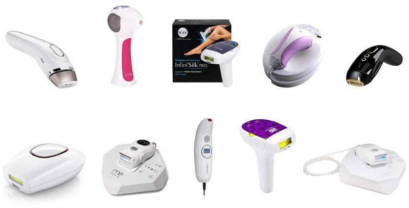 انواع دستگاه لیزر مو